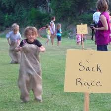 sack-races